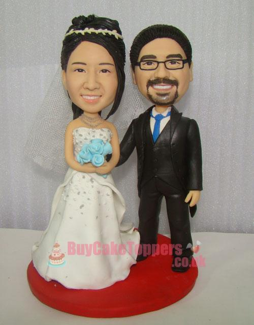 Wedding Cake Toppers Uk Personalised : Marry me wedding cake topper - Custom cake toppers ...