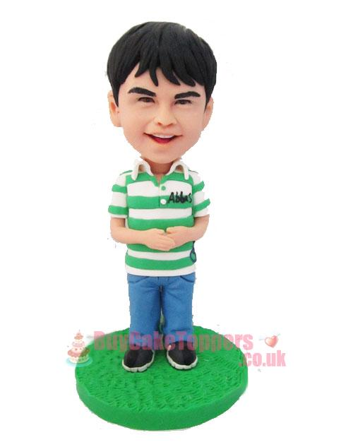 kids birthday cake topper figurine