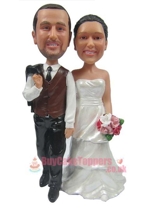 Wedding Cake Topper Set 1