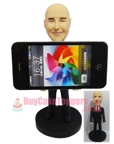 iPhone holder custom figurine