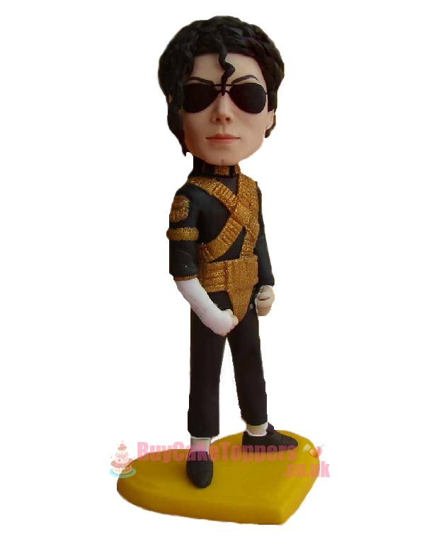 Michael Jackson dancing suit - Custom cake toppers ...